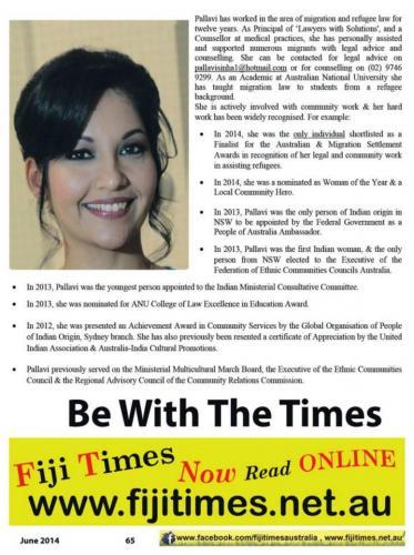 Fiji Times pg1